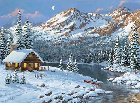 paysages d hiver page 3. Black Bedroom Furniture Sets. Home Design Ideas